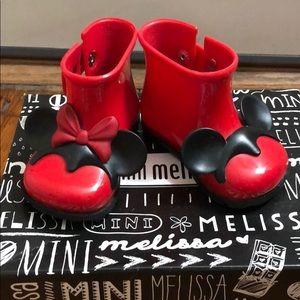Mini Melissa Disney rain boot